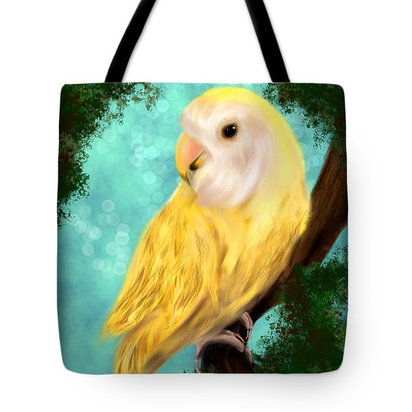 Petrie The Lovebird Tote Bag