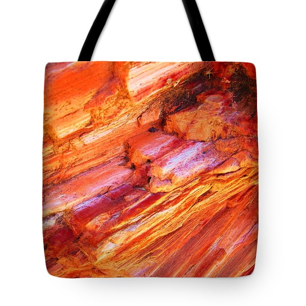 Petrified Abstraction No 1 Tote Bag