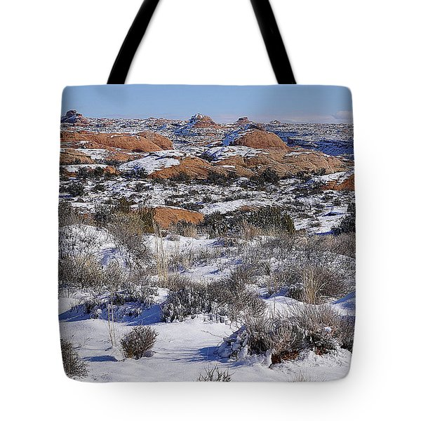 Petrified Dunes At Arches National Park Tote Bag