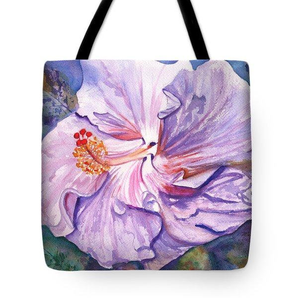 Petrina's Hibiscus Tote Bag