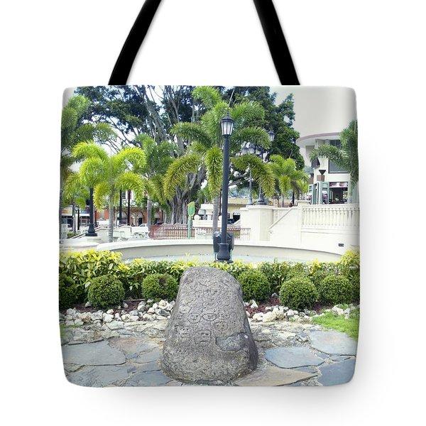 Petroglifo Boricua Tote Bag