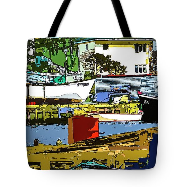 Petty Harbor Tote Bag