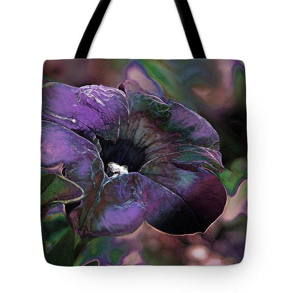 Petunia 1 Tote Bag by Stuart Turnbull