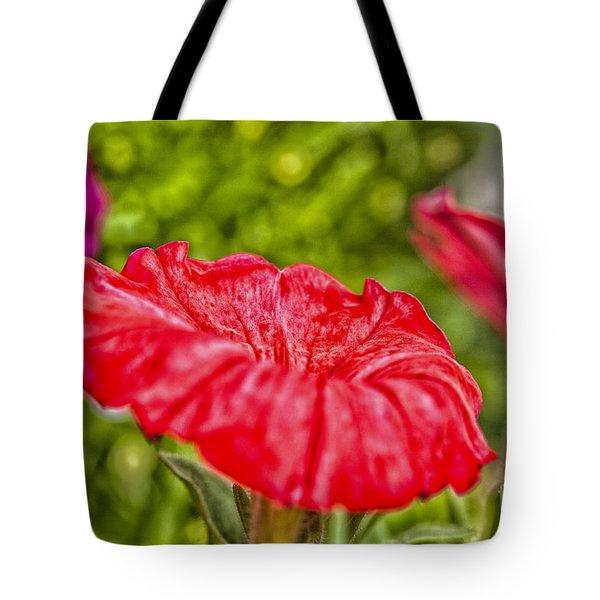 Petunia Tote Bag