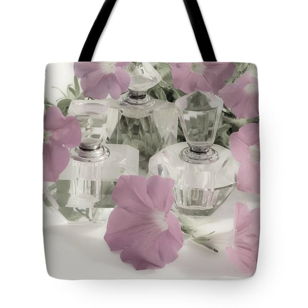 Petunias And Perfume - Soft Tote Bag