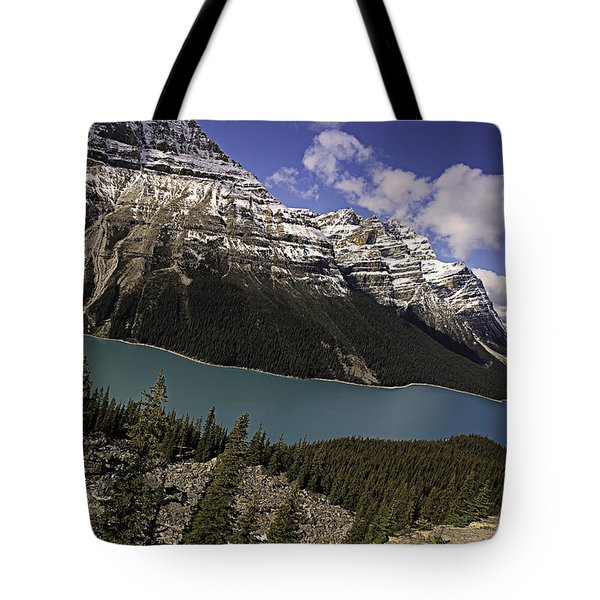 Peyto Lake Tote Bag by John Gilbert