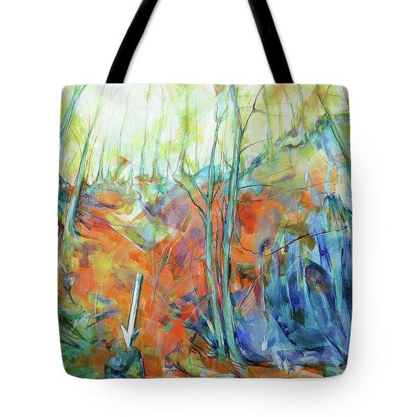 Pfeil - Arrow Tote Bag by Koro Arandia