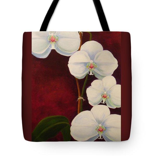 Phaleanopsis Tote Bag