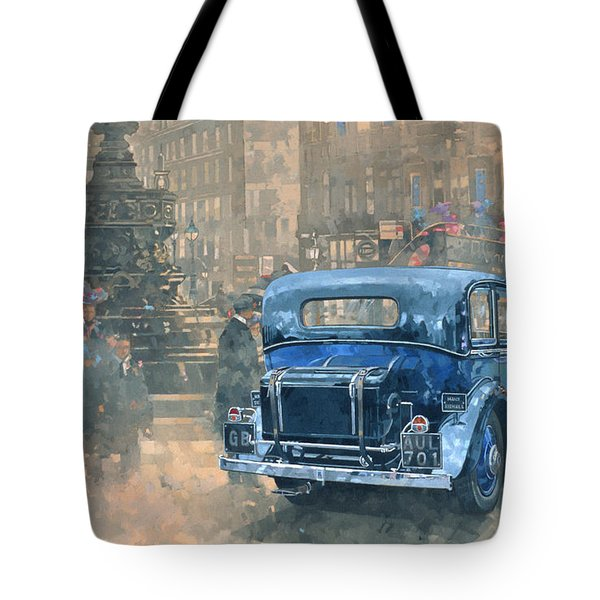 Phantom In Piccadilly  Tote Bag