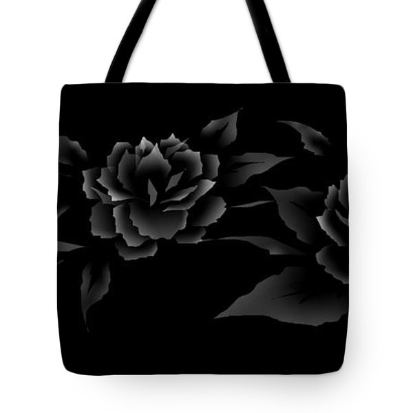 Phantom Peonies Tote Bag