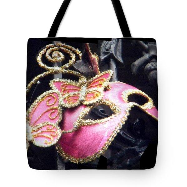 Phantom Pink Tote Bag