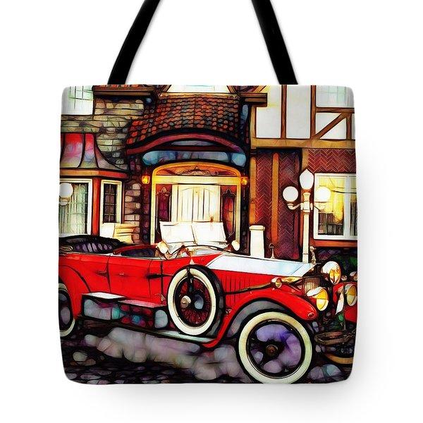 Phantom Rolls Royce 1935 Tote Bag