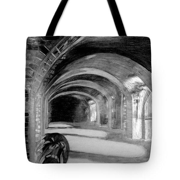 Phantom Scream Tote Bag
