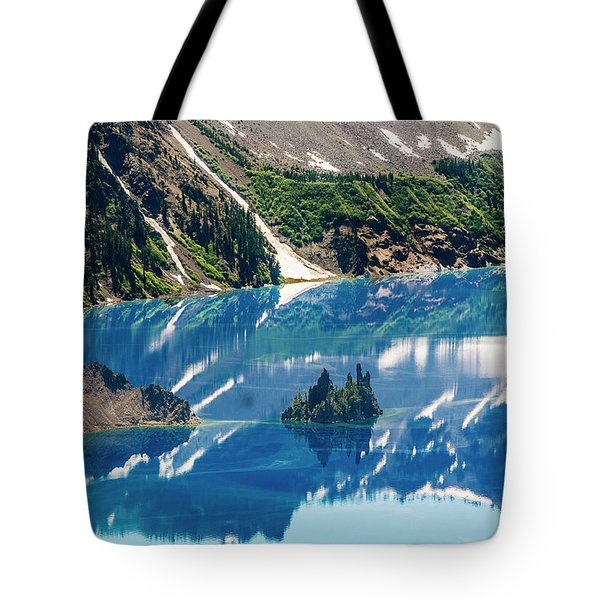 Phantom Ship Island Tote Bag