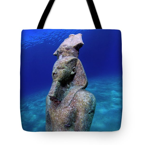 Tote Bag featuring the photograph Pharao by Rico Besserdich