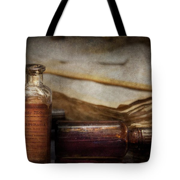 Pharmacist - Specific Medicines  Tote Bag by Mike Savad