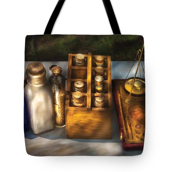 Pharmacist - Field Medicine Tote Bag by Mike Savad