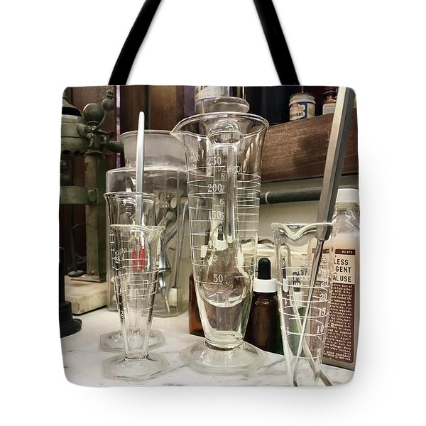 Pharmacy  Tote Bag by Michael Krek