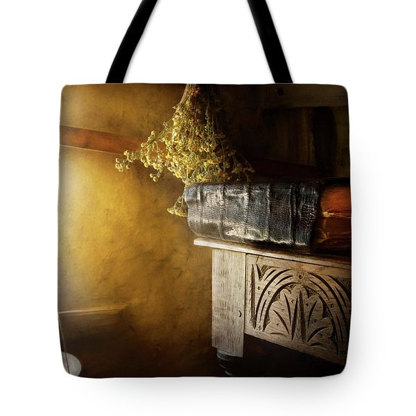 Pharmacy - The Apothecarian Tote Bag by Mike Savad
