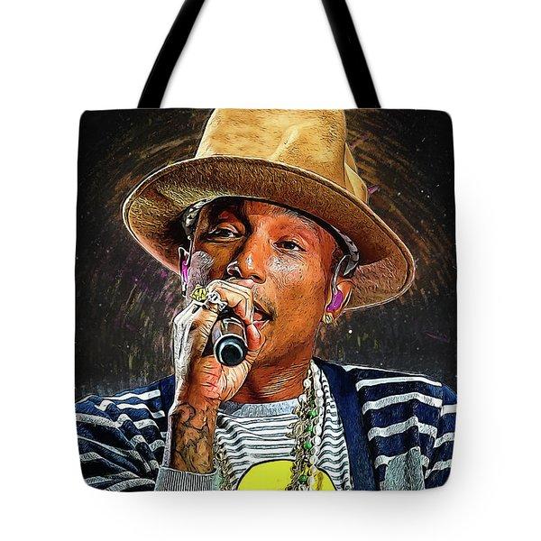 Pharrell Williams Tote Bag