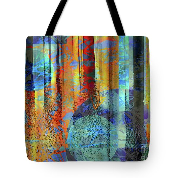 Phasing Through Tote Bag by Robert Ball