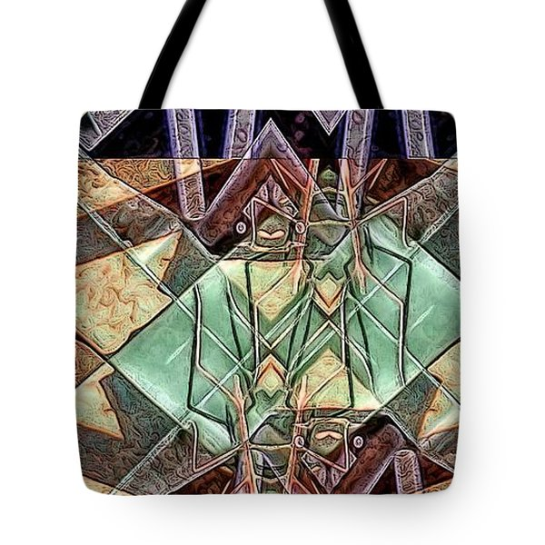 Phasmids Tote Bag by Ron Bissett