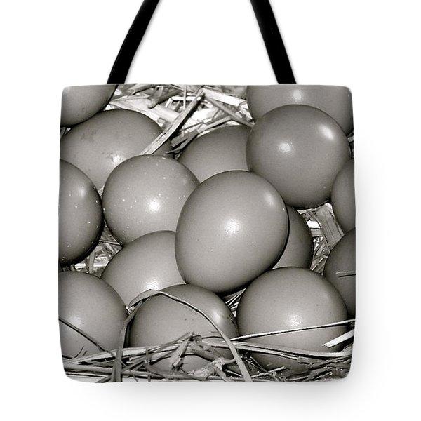 Pheasant Eggs Tote Bag by Karon Melillo DeVega
