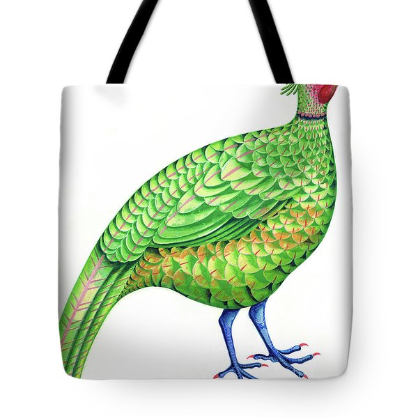 Pheasant Tote Bag by Jane Tattersfield