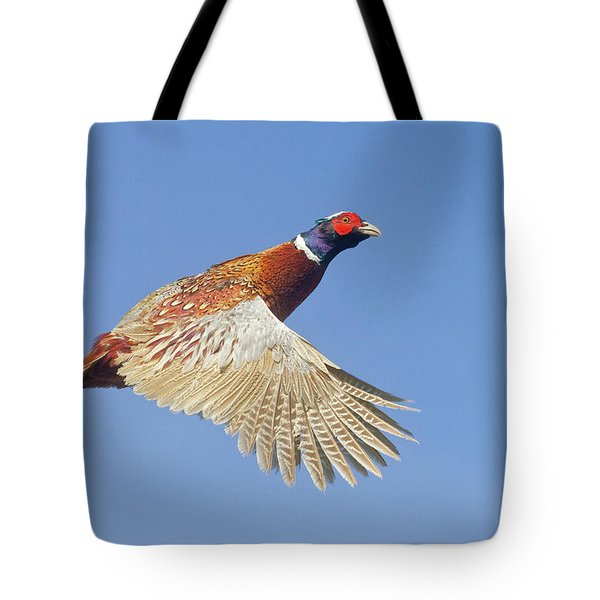 Pheasant Wings Tote Bag