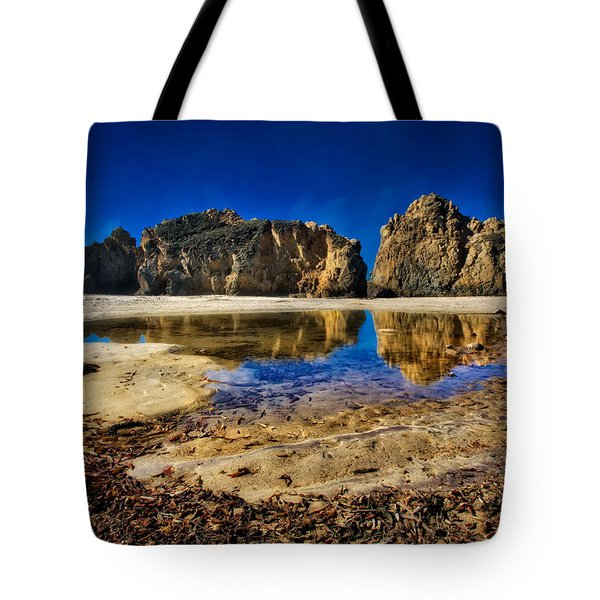 Tote Bag featuring the photograph Pheiffer Beach #15 - Big Sur, Ca by Jennifer Rondinelli Reilly - Fine Art Photography
