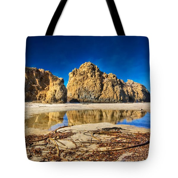 Tote Bag featuring the photograph Pheiffer Beach - Keyhole Rock #16 - Big Sur, Ca by Jennifer Rondinelli Reilly - Fine Art Photography