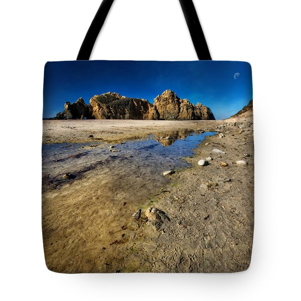 Tote Bag featuring the photograph Pheiffer Beach -keyhole Rock #18 - Big Sur, Ca by Jennifer Rondinelli Reilly - Fine Art Photography