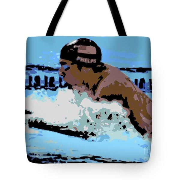 Phelps 2 Tote Bag by George Pedro