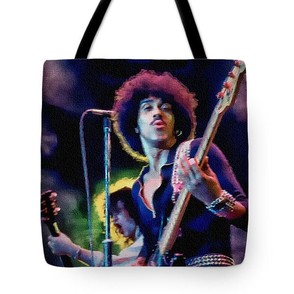 Phil Lynott - Thin Lizzy Tote Bag