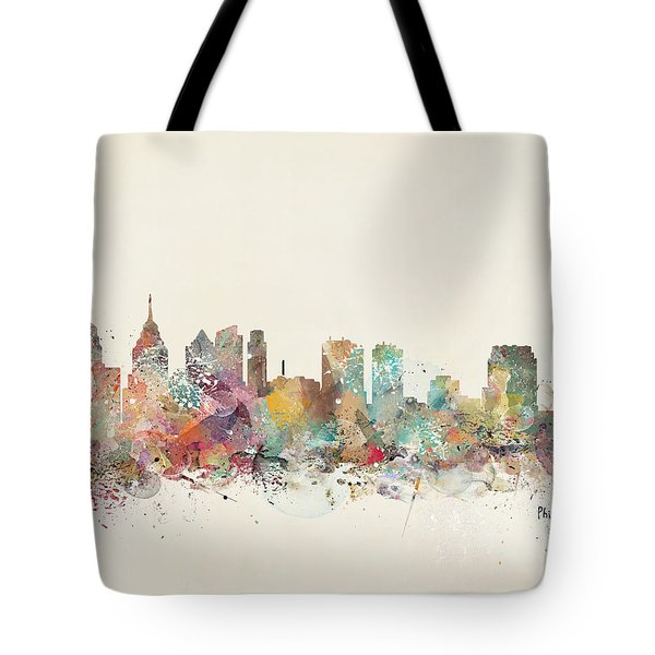 Philadelphia City  Tote Bag