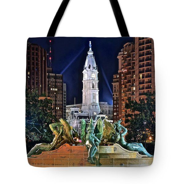 Philadelphia City Hall Tote Bag