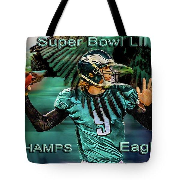 Philadelphia Eagles - Super Bowl Champs Tote Bag