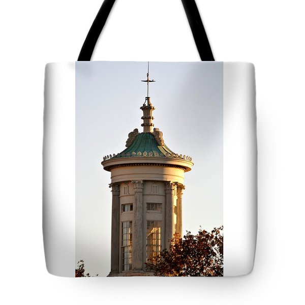 Philadelphia Merchant's Exchange Tower Tote Bag by Christopher Woods