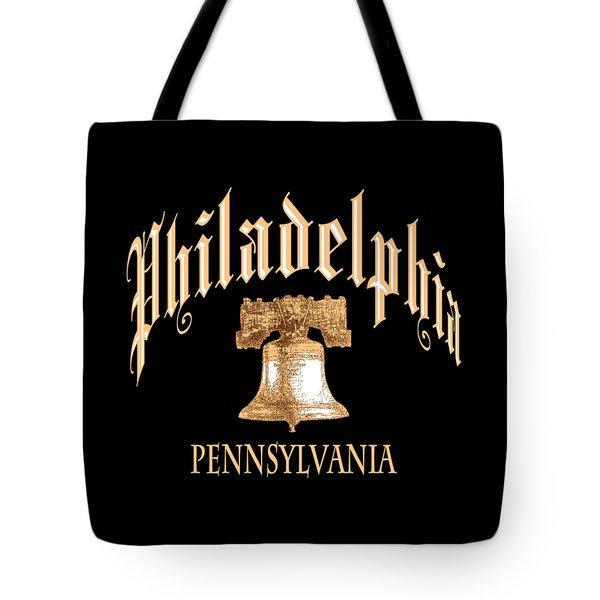 Philadelphia Pennsylvania Design Tote Bag