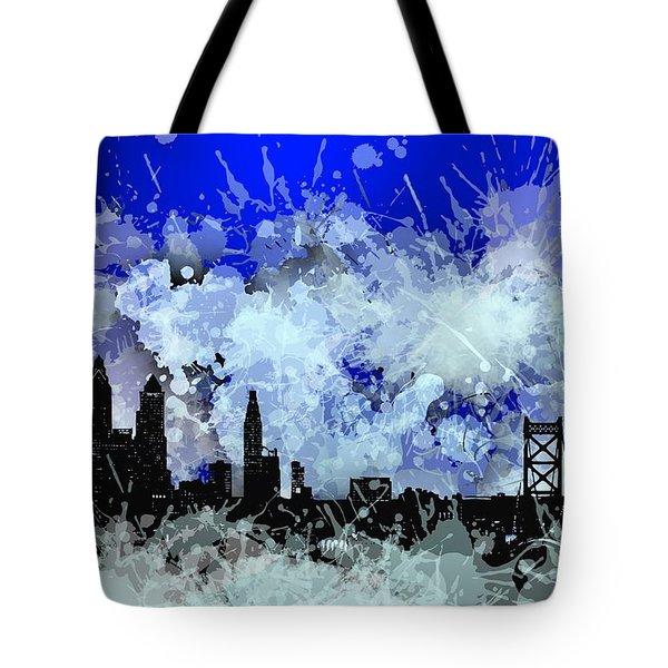 Philadelphia Skyline.1 Tote Bag