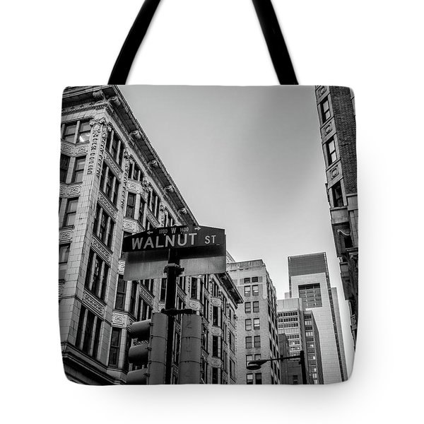 Philadelphia Urban Landscape - 0980 Tote Bag by David Sutton