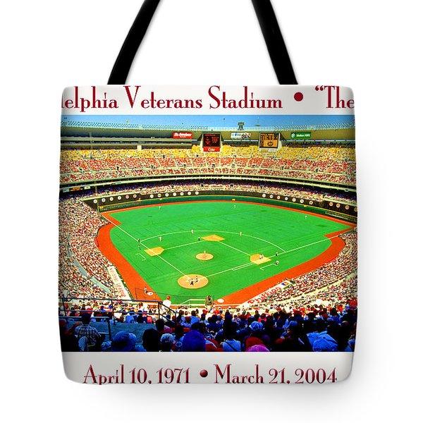 Philadelphia Veterans Stadium The Vet Tote Bag