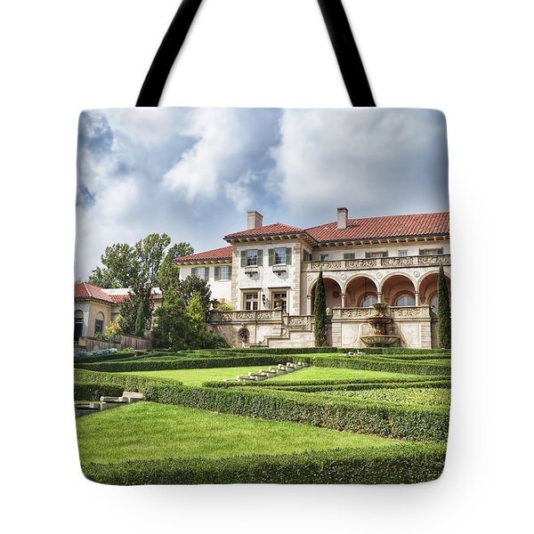 Tote Bag featuring the photograph Philbrook Museum Tulsa Oklahoma Photograph  by Ann Powell