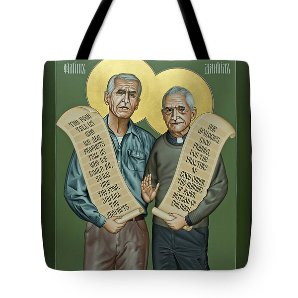 Philip And Daniel Berrigan Tote Bag