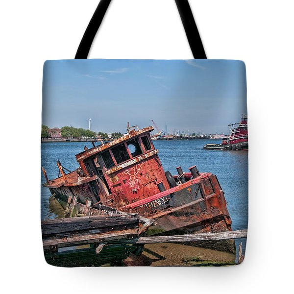 Tote Bag featuring the photograph Philip T Feeney by Steve Sahm