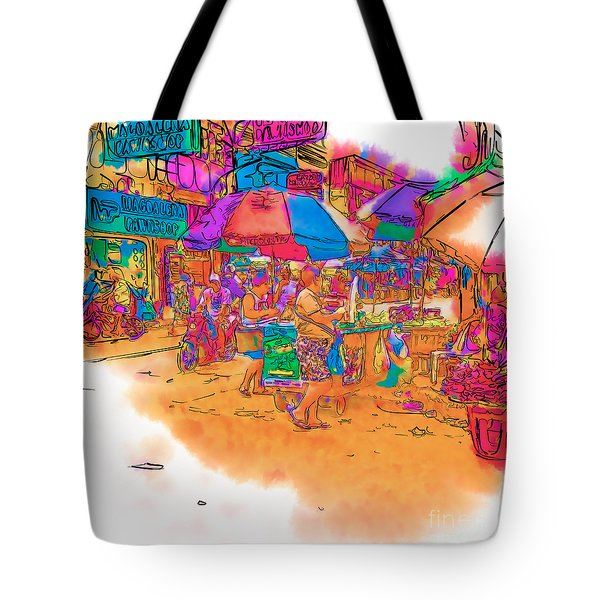 Philippine Open Air Market Tote Bag
