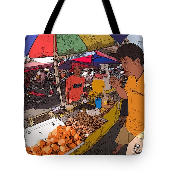 Philippines 1299 Street Food Tote Bag