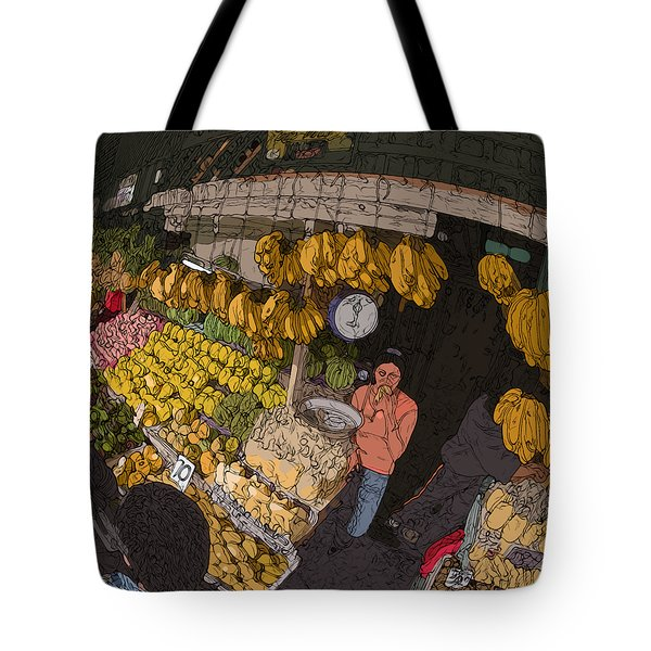 Philippines 3575 Saging Sales Lady Tote Bag
