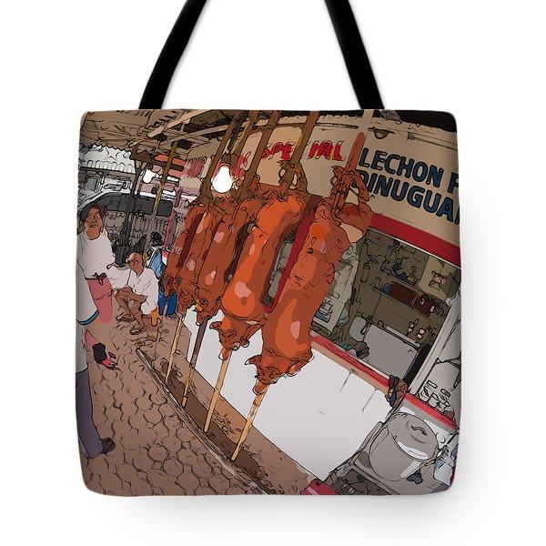 Philippines 4057 Lechon Tote Bag