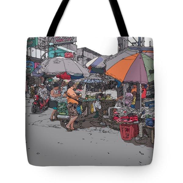 Philippines 708 Market Tote Bag
